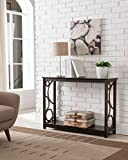 Cheap Kings Brand Furniture Cherry Finish Wood Entryway Console Sofa Table