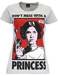 Star Wars Womens' Star Wars T-Shirt Princess Leia