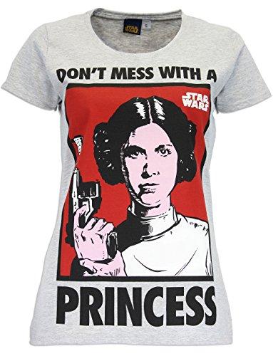 Star Wars Womens' Star Wars T-Shirt Princess Leia Size XX-Large