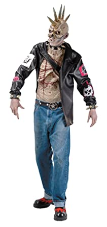Amazon.com DISC0UNTST0RE Punk Zombie Costume Halloween Costume , Most  Adults Clothing