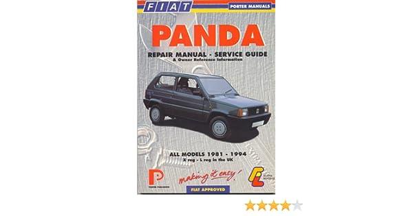 fiat panda 1981 94 porter manuals porter manuals 9781899238224 rh amazon com