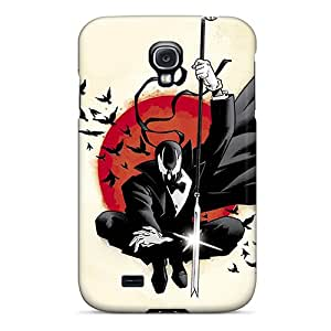 Protective Tpu Case With Fashion Design For Galaxy S4 (deadpool Artwork)