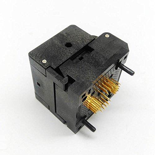 IC549-0484-010-G Burn in Socket QFN48 MLF48 IC Test Socket Pitch 0.4mm Clamshell Chip Size 66 Flash Adapter Programming Socket
