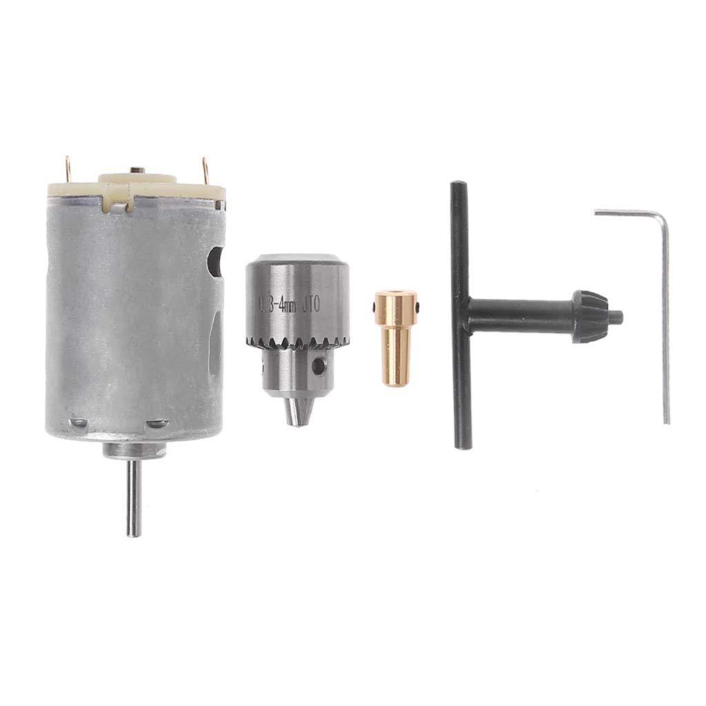 longsw dispositivo de sujeció n de mandril elé ctrico 0.3 mm-4 mm Llave de correa có nico 3.17 mm conjunto de Bielle
