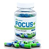 Best Focus Supplements - Excelerol Focus Plus Brain Supplement Capsules, 60 Count Review