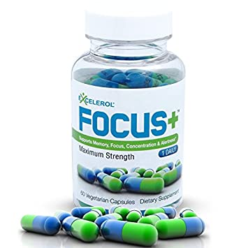 Focus Brain Supplement And Memory Support Pills 60 Ct