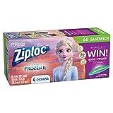 Ziploc Sandwich Bags, Easy Open Tabs, 66