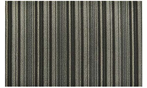 18×30インチ ブリストル 装飾アクセントマット グレー  グレー B07NFCJPJ1