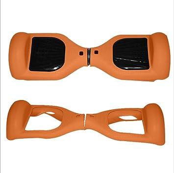 ZSZBACE Funda Carcasa Protector de Silicona para 6.5 Inch Hoverboard (Naranja)