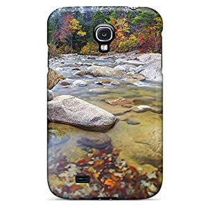 samsung galaxy s4 Style cell phone shells New Arrival case wonderful mountain stream in autumn