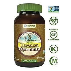 Pure Hawaiian Spirulina-1000mg Tablets 1...