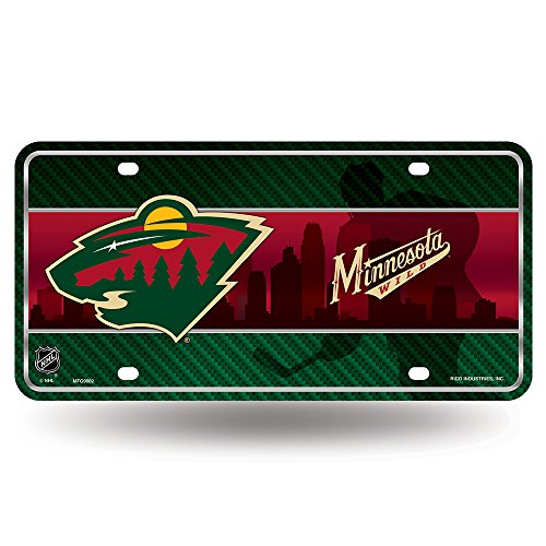 NHL Minnesota Wild Metal License Plate Tag