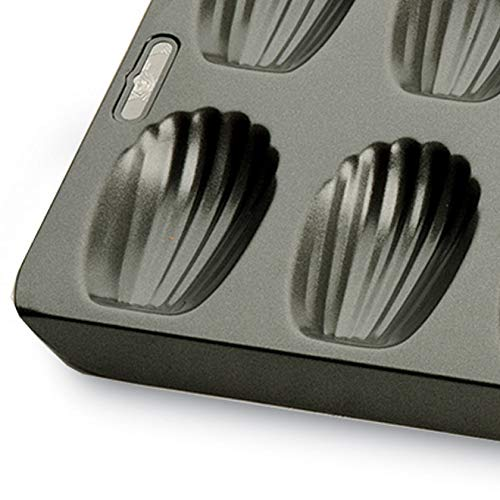 / Kitchencraft Chicago Metallic Professional 12-Hole Madeleine Antiaderente 40/x 19/cm 39,4/x 19,1/cm /Grigio