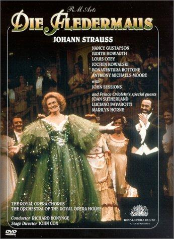 Johann Strauss – Die Fledermaus / Bonynge, Cox, Ashton, Royal Opera