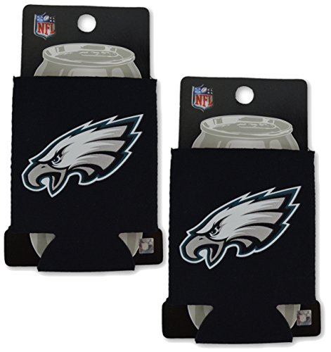 Official National Football League Fan Shop Authentic 2-Pack NFL Insulated 12 Oz Can Cooler (Philadelphia Eagles - - Shop Chicago Irish