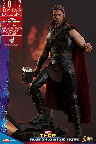 Roadworn Thor (Exclusive) Thor: Ragnarok Sixth (1/6) Scale Movie Masterpiece Figure - Exclusive Hot Toys
