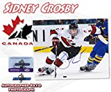 """SIDNEY CROSBY Signed TEAM CANADA OLYMPIC 8x10 PHOTO w/COA - """"NEW - Autographed NHL Photos"""