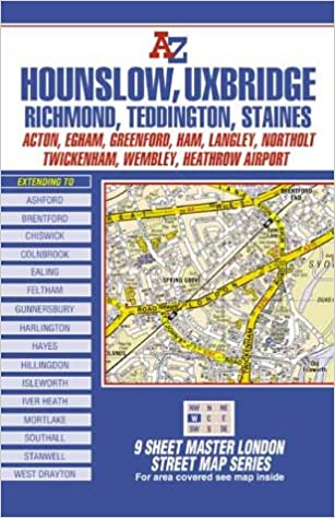 Map Of West London Uk.A Z Master Map Of West London London Street Maps Amazon