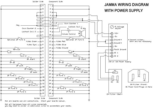 Arcade Wire Diagram Wiring Diagram