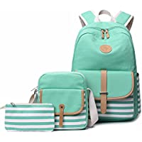FLYMEI Cute School Backpack College Bookbag Travel Laptop Backpack Casual Daypack for Teen Girls and Women
