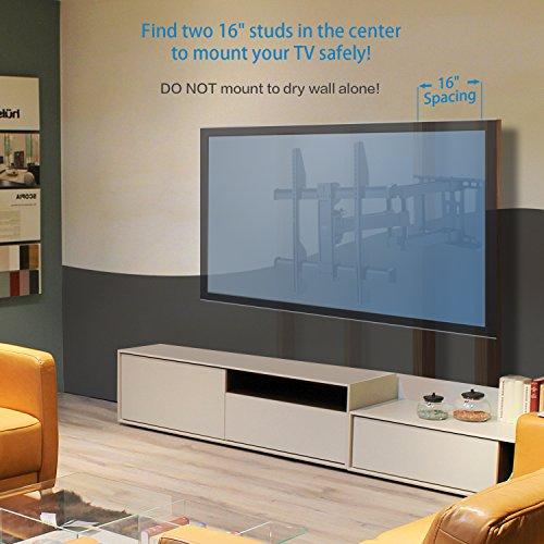 Tv Wall Mount Bracket Full Motion Dual Articulating Arm