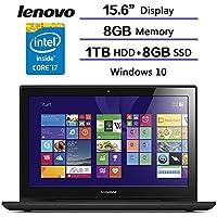 2017 Newest Flagship Gaming Laptop Lenovo Y50 Series Gaming Laptop Intel CoreI7-4720HQ/ 2GB NVIDIA GeForce GTX 960M/ 8GB RAM/ 1TB HDD+8GB SSD/Windows 10 Home 64.