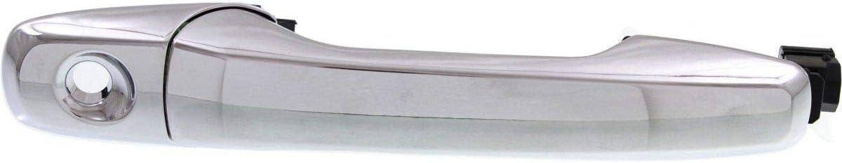 Front /& Rear Exterior Outside Door Handle Kit Set Chrome for Explorer Edge New