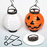 Paper Lanterns with LED Light Creative Set for Children to Make Decorate and Display as a Chinese New Year Decoration (each)