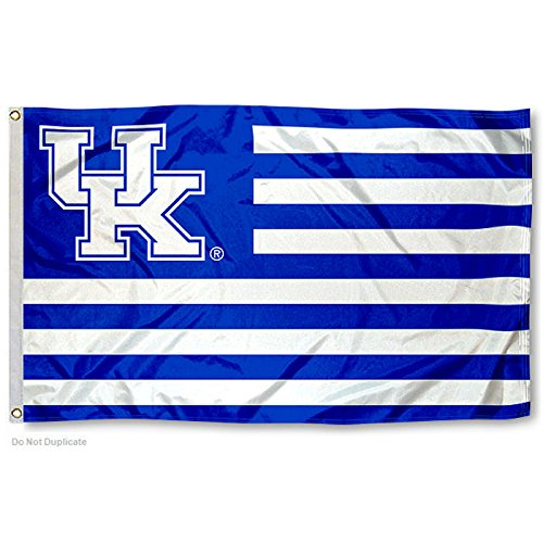 Kentucky UK Wildcats Stars and Stripes Nation College Flag