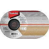 Makita A-95978-25 36 Grit INOX Grinding Wheel (Pack of 25), 6-Inchx1/4-Inchx7/8-Inch