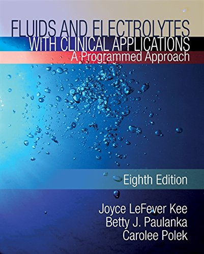 Which is the best fluids and electrolytes with clinical applications?