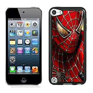 Customized Ipod Touch 5 Case Design with Spiderman Ipod Touch 5 5th Generation Black Case