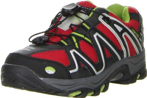 ConWay Kinder Jugend Trekkingschuhe Outdoorschuhe rot, Farbe:Rot;Größe:38