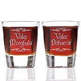 Valar Morghulis and Valar Dohaeris Shot Glass Set