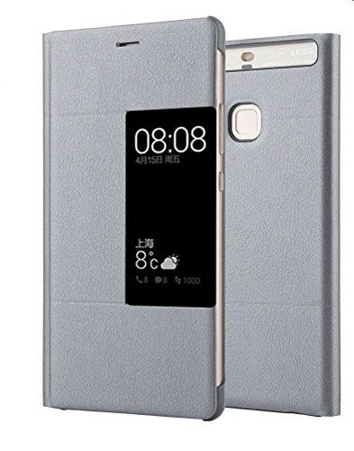 Yooky Hua Wei P9 Plus Case, Premium PU Phone Cover…