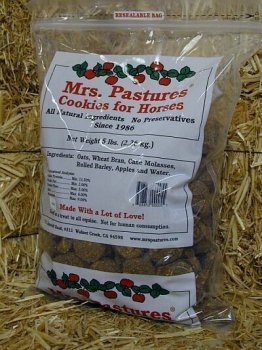 Cookie Horse Treats - MRS. PASTURES, INC. Mrs. Pastures Cookies for Horses - 5 Pound Refill Bag