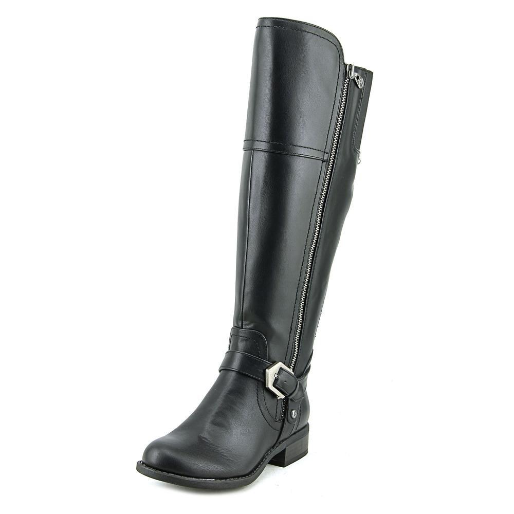 G By Guess Hailee Women Brown Knee High Boot B01N07J7NZ 7.5 B(M) US Black Sy