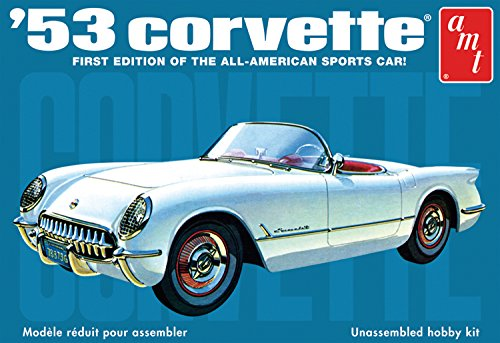 AMT 1:25 Scale 1953 Chevy Corvette Model Kit ()
