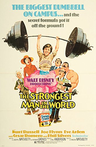 The Strongest Man in the World 1975 Authentic 27