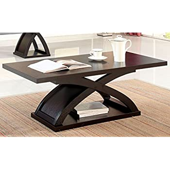 Amazon Com Furniture Of America Barkley Modern Coated