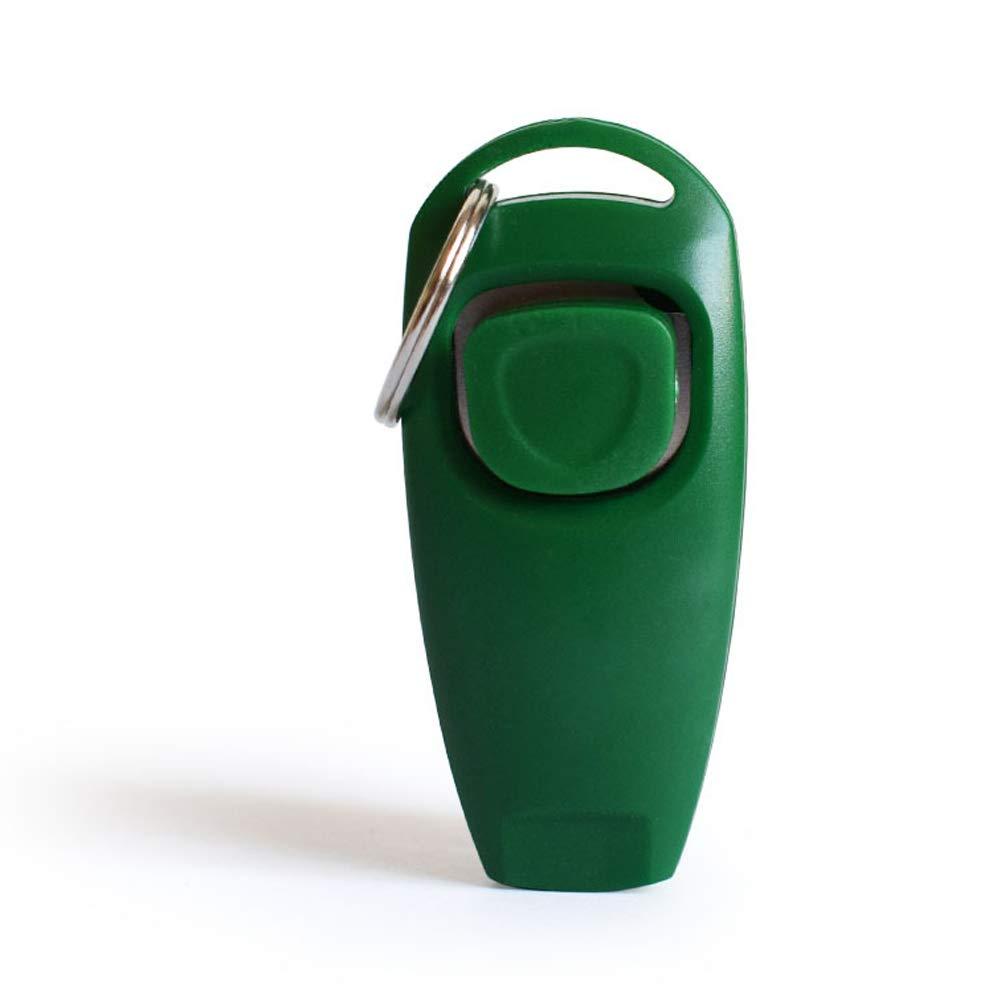 ZYX Pack Dog Clicker Dog Whistle pour arr/êter daboyer Dressage de Chien clicker Chien sifflet Clicker 2 en 1 Nouveaux Outils de Formation de Mise /à Niveau avec dragonne