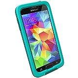 LifeProof FRE Samsung Galaxy S5 Waterproof Case - Retail Packaging - LIGHT TEAL/DARK TEAL