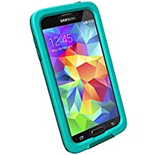LifeProof FRE Samsung Galaxy S5 Waterproof Case - Retail Packaging - LIGHT TEAL/DARK TEAL