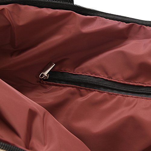 Purple Damara Dark Shoulder Tote Luggage Bag Casual Canvas Bags BqxB8Ur