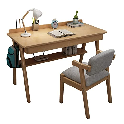 YNN Table Escritorio de la computadora Conjunto de mesas y sillas ...