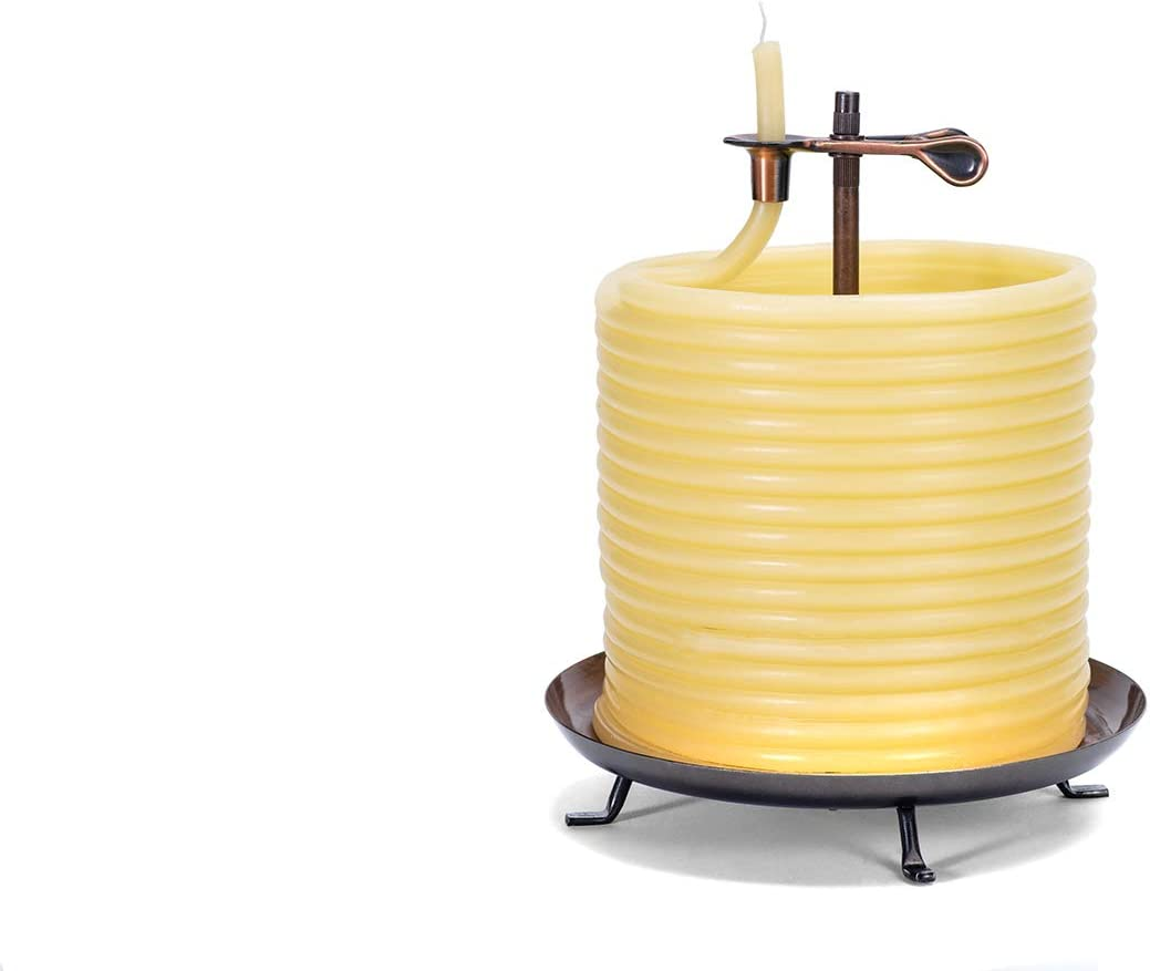 Eco-friendly Natural Beeswax 20563R Candle by the Hour 60-Hour Candle Refill