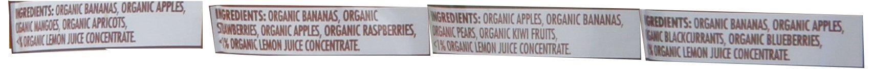 Ella's Kitchen Organic Smoothie Fruits 4 Flavor Variety Pack (8 Total Pouches) by Ella's Kitchen (Image #3)