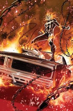Ghost Rider Folded Promo Poster