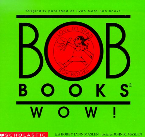 Bob Books Wow! Level C, Set 1(re-released as Bob Books Set 5- Long Vowels)