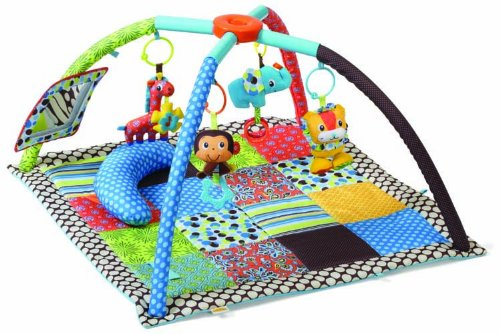 Infantino Twist and Fold Activity Gym, Vintage Boy by Infantino (Image #2)